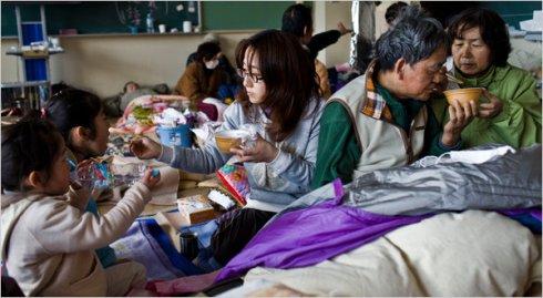 image of Japanese shelter